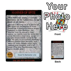 Warhammer Quest 2 By Kieren   Multi Purpose Cards (rectangle)   L3an5b4sp9nt   Www Artscow Com Front 41