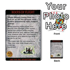 Warhammer Quest 2 By Kieren   Multi Purpose Cards (rectangle)   L3an5b4sp9nt   Www Artscow Com Front 43