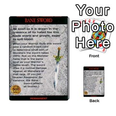 Warhammer Quest 2 By Kieren   Multi Purpose Cards (rectangle)   L3an5b4sp9nt   Www Artscow Com Front 46
