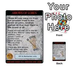 Warhammer Quest 2 By Kieren   Multi Purpose Cards (rectangle)   L3an5b4sp9nt   Www Artscow Com Front 47