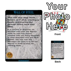 Warhammer Quest 2 By Kieren   Multi Purpose Cards (rectangle)   L3an5b4sp9nt   Www Artscow Com Front 49