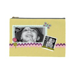 Lg Spring Cosmetic Bag By Martha Meier   Cosmetic Bag (large)   5rn8a8d1udki   Www Artscow Com Front