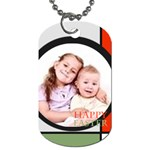 Happy Easter - Dog Tag (One Side)