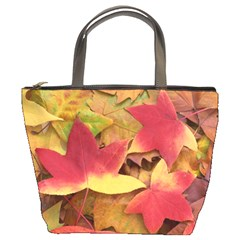 Autumn Leaves Bucket Bag By Bags n Brellas   Bucket Bag   F5b2bodybh9n   Www Artscow Com Front