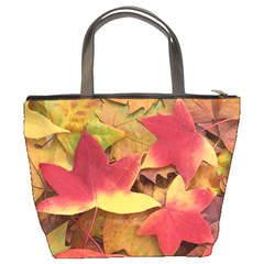 Autumn Leaves Bucket Bag By Bags n Brellas   Bucket Bag   F5b2bodybh9n   Www Artscow Com Back