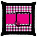 BWP Pillowcase 1 - Throw Pillow Case (Black)