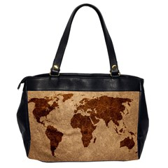 Two Sided Office Bag Leather Map By Bags n Brellas   Oversize Office Handbag (2 Sides)   85qbhirxyil1   Www Artscow Com Back