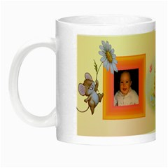 Little Angel Luminous Mug By Deborah   Night Luminous Mug   Csaicq9obd9l   Www Artscow Com Left