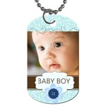 baby boy - Dog Tag (One Side)