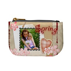 Spring  By Joely   Mini Coin Purse   0k18zaoc3d40   Www Artscow Com Front