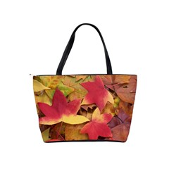 Autumn Leaves Shoulder Bag By Bags n Brellas   Classic Shoulder Handbag   S5vc28p2j08w   Www Artscow Com Back