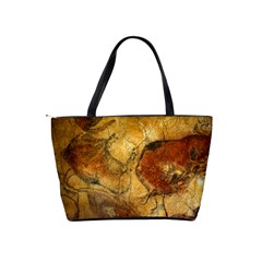 Cave Painting Shoulder Bag By Bags n Brellas   Classic Shoulder Handbag   Qo3dfknua3lu   Www Artscow Com Back