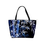 blue bamboo shoulder bag - Classic Shoulder Handbag