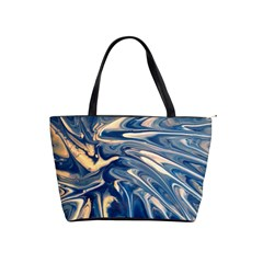 Blue Burst Shoulder Bag By Bags n Brellas   Classic Shoulder Handbag   Lu86za4yd1cu   Www Artscow Com Front