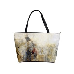 Abstract1 Shoulder Bag By Bags n Brellas   Classic Shoulder Handbag   Z3bn9891d508   Www Artscow Com Front