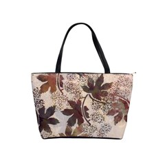 Leaves1 Shoulder Bag By Bags n Brellas   Classic Shoulder Handbag   Zcoaj9ej5zss   Www Artscow Com Front