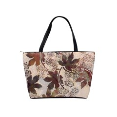 Leaves1 Shoulder Bag By Bags n Brellas   Classic Shoulder Handbag   Zcoaj9ej5zss   Www Artscow Com Back