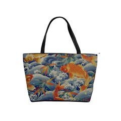 Koi Orange Shoulder Bag By Bags n Brellas   Classic Shoulder Handbag   Jkyduaskk29f   Www Artscow Com Front