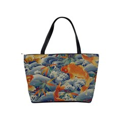 Koi Orange Shoulder Bag By Bags n Brellas   Classic Shoulder Handbag   Jkyduaskk29f   Www Artscow Com Back