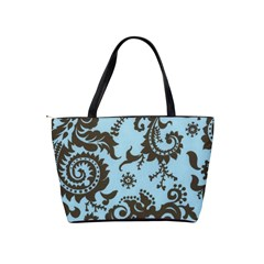 Sky Swirl Shoulder Bag By Bags n Brellas   Classic Shoulder Handbag   Zbjtvfpvqtf1   Www Artscow Com Back