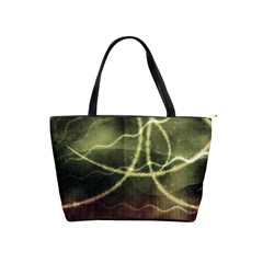 Abstract Green Light Shoulder Bag By Bags n Brellas   Classic Shoulder Handbag   Nikenavyagqb   Www Artscow Com Front