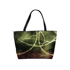Abstract Green Light Shoulder Bag By Bags n Brellas   Classic Shoulder Handbag   Nikenavyagqb   Www Artscow Com Back