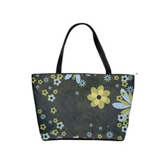 Flowers Shoulder Bag By Bags n Brellas   Classic Shoulder Handbag   Yun4h29keite   Www Artscow Com Front