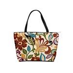 RETRO FLORAL   shoulder bag - Classic Shoulder Handbag