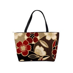 Retro2  Shoulder Bag By Bags n Brellas   Classic Shoulder Handbag   0tbx8pfx7zfx   Www Artscow Com Back