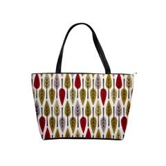 Fall Leaves Shoulder Bag By Bags n Brellas   Classic Shoulder Handbag   E49xbtdo2tva   Www Artscow Com Front