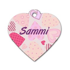 Sammi By Jami Pace   Dog Tag Heart (two Sides)   7ks0rqkcv67u   Www Artscow Com Front