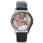 betty3 - Round Metal Watch