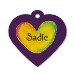 Sadie - Dog Tag Heart (Two Sides)