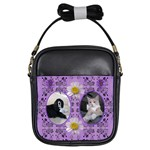 Purple Girls Sling Bag