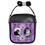Purple Girls Sling Bag