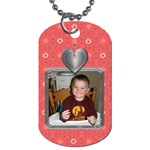 Heart Blossom 2-Sided Dog Tag - Dog Tag (Two Sides)