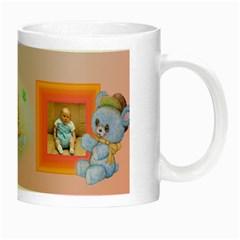 Little Angel 2 Luminous Mug By Deborah   Night Luminous Mug   E3nsgcdrs65e   Www Artscow Com Right