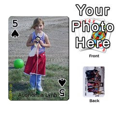 Family Cards By Charis Balyeat   Playing Cards 54 Designs   Inj0nlgo0lwl   Www Artscow Com Front - Spade5