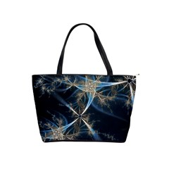 Blue Abstract Light Shoulder Bag By Bags n Brellas   Classic Shoulder Handbag   T496wwedcp3i   Www Artscow Com Front
