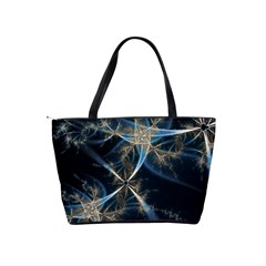 Blue Abstract Light Shoulder Bag By Bags n Brellas   Classic Shoulder Handbag   T496wwedcp3i   Www Artscow Com Back