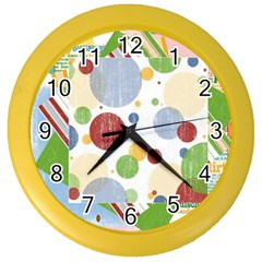 scrapbooklayout1 Color Wall Clock by awitherspoon80A