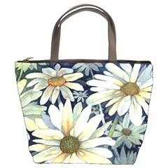 Daisies Bucket Bag By Bags n Brellas   Bucket Bag   9ruo2vkleqgw   Www Artscow Com Front