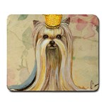 Yorkie Valentine Princess Large Mousepad