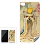 Yorkie Valentine Princess Apple iPhone 4 Skin