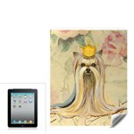 Yorkie Valentine Princess Apple iPad Skin