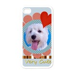 cute - Apple iPhone 4 Case (White)