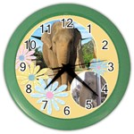 Buttercup wall clock - Color Wall Clock