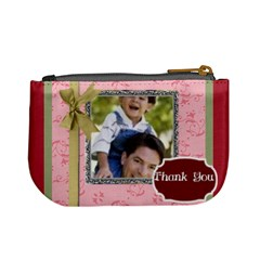 Thank You By Joely   Mini Coin Purse   Mnz3qdqg91w2   Www Artscow Com Back