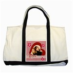 Love - Two Tone Tote Bag