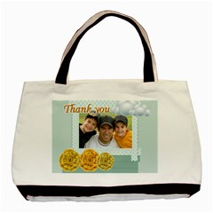 Thank You By Joely   Basic Tote Bag (two Sides)   7fw7g3bqq9yh   Www Artscow Com Front